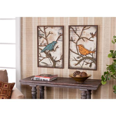 2piece vintage metal bird wall art panel frame sculpture designer home decor set ebay vintage love birds wall art set couple gift wedding house