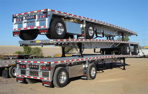 flat bed trailers for sale aluminum flatbed semi trailer sales for sale midco sales heavy trucks