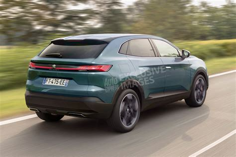 used peugeot 4008 peugeot 4008 coupe suv pictures auto express