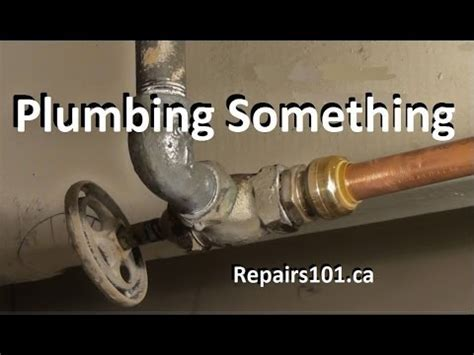 Spadaro Plumbing by The Plumber Fixing Leak Pinhole In Copper Pipe Using