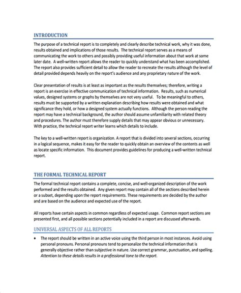 professional report template 21 professional report templates sle templates