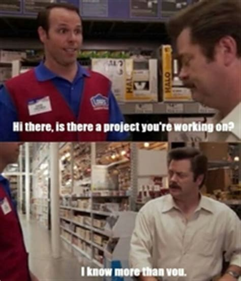 everytime i go to lowes or the depot meme