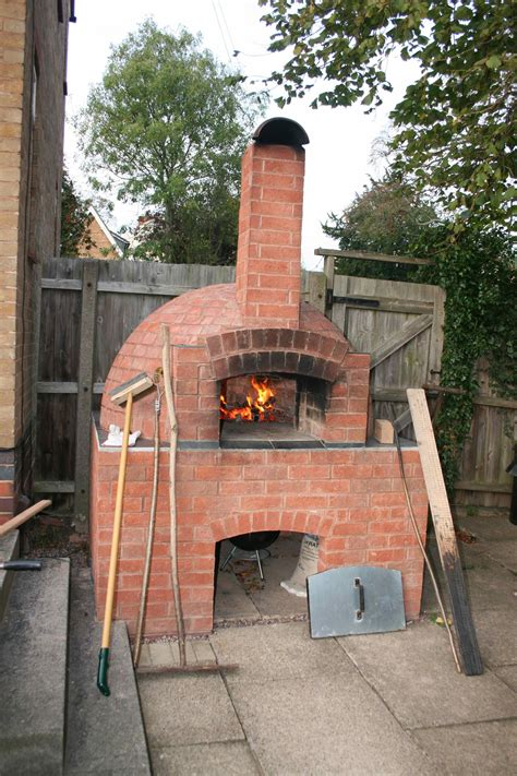 Outdoor Pizza Oven Brick Outdoor Furniture Design And Ideas Backyard Brick Oven Plans