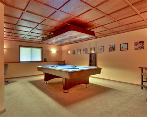 Pool Room Modern Home Theater Minneapolis By 5th House Plans Pool Room