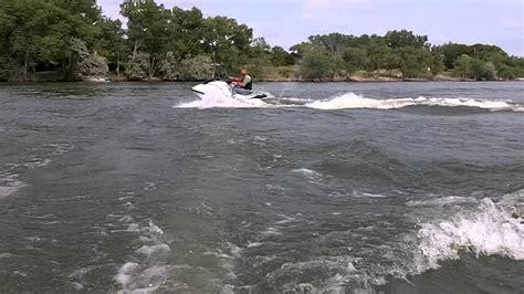 jet ski vs jet boat jet ski vs 12 ft aluminum boat youtube