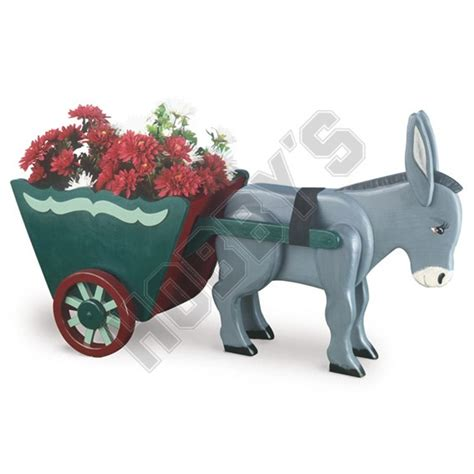 shop donkey cart planter design hobbyukcom hobbys