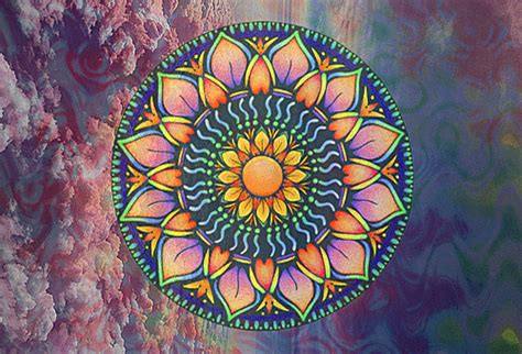 hippie pattern gif psychedelic spin pictures photos and images for facebook
