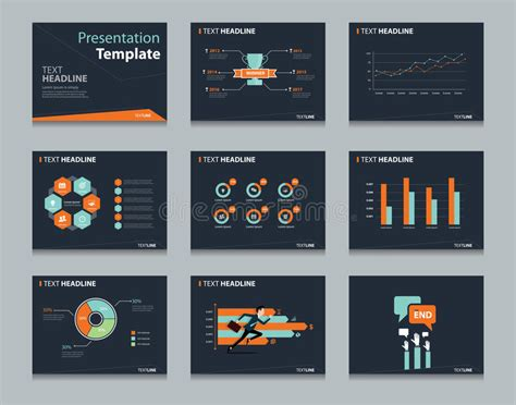 design concept ppt black infographic powerpoint template design backgrounds