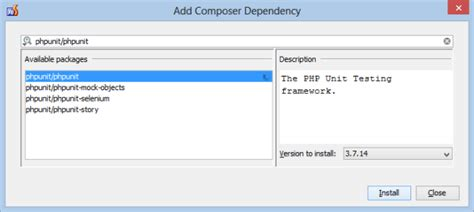 installing bootstrap via composer phpunit installation via composer in phpstorm phpstorm