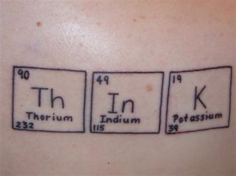 periodic table tattoo periodic table tattoos archives the loom the loom