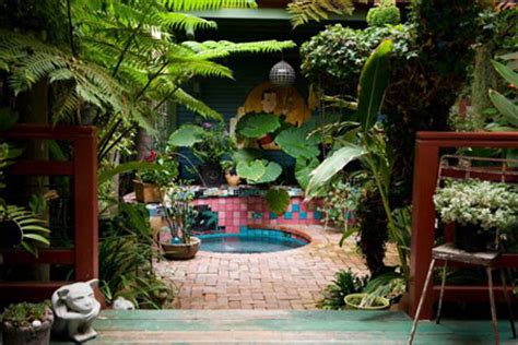 Back Deck And Hot Tub Ideas Tropical Patio Los Angeles Tropical Patio Design