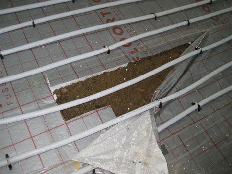 fußbodenheizung gut oder schlecht sand schotter unter estrich bauforum auf energiesparhaus at