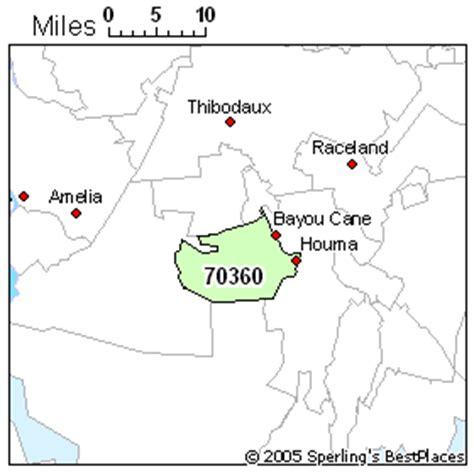 zip code map houma la best place to live in houma zip 70360 louisiana