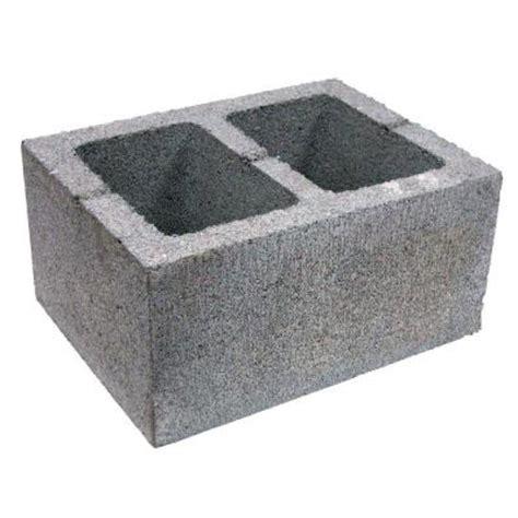 concrete block   home depot