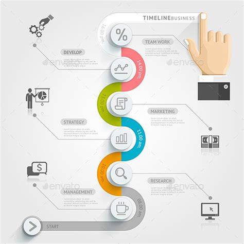 template infographic 25 amazing timeline infographic templates web graphic