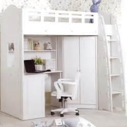 loft bed closet what an idea loft bed with desk and closet kids bedroom