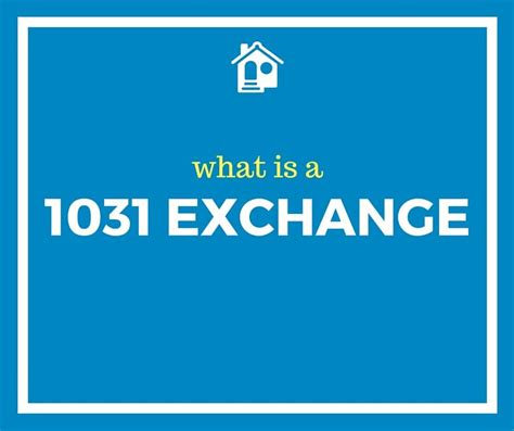 What Is A how to do a 1031 exchange definitions for