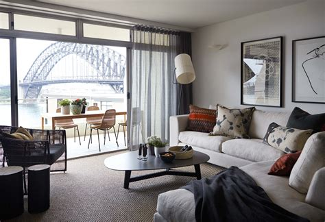 hare klein interior design sydney interior designers hare klein kirribilli apartment residential interior