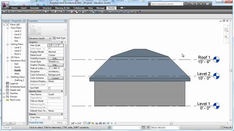 How To Build A Gambrel Roof Cadclip Revit 2011 Roof Basics 06 Mansard Youtube