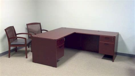 Cherryman L Desk Amber Series Nashville Office Furniture Cherryman Office Furniture