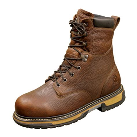 waterproof work boots for s rocky 174 iron clad insulated waterproof work boots