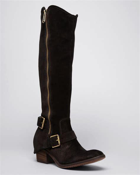 donald pliner boots donald j pliner western boots dela in brown lyst