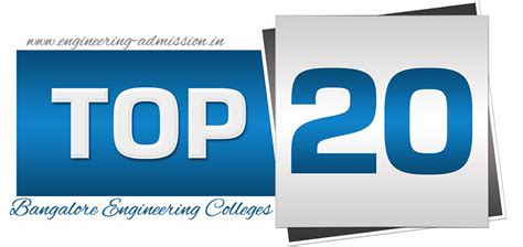 Top 20 Mba Colleges In Bangalore by Direct Admission In Top 20 Bangalore Engineering Colleges
