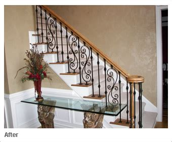banister iron works iron balusters custom staircases and wrought iron spindles by advanced staircase