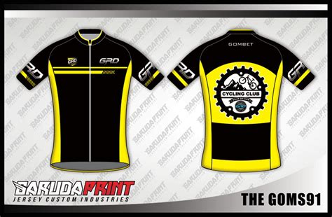 cara membuat desain jersey basket dengan photoshop koleksi desain baju sepeda gowes road bike 05 garuda