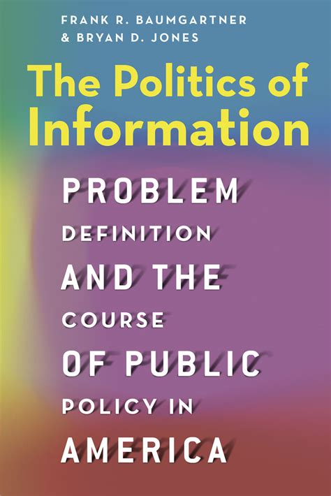 The American Definition Frank Baumgartner The Politics Of Information And The Paradox Of Search Unc Center For Media
