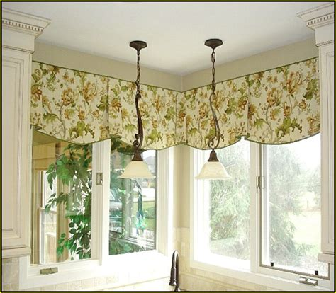 kitchen curtains with valances home design ideas