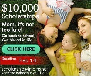Instant Win Scholarships - enter for a chance to win 10 000 in scholarships 4 moms thrifty momma ramblings