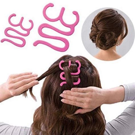hair braided with roller outcome hair braiding tool roller with hook magic hair twist