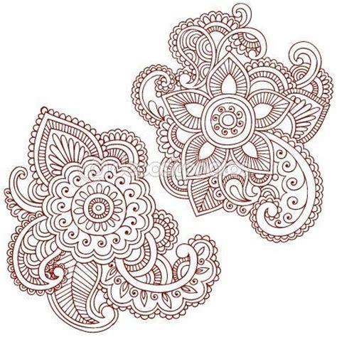 Tatto Vorlagen Muster die 25 besten ideen zu henna vorlagen auf