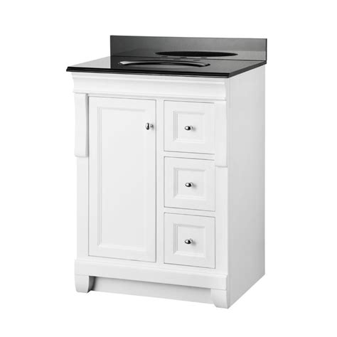 25 X 19 Granite Vanity Top foremost naples 25 in x 19 in vanity in white and