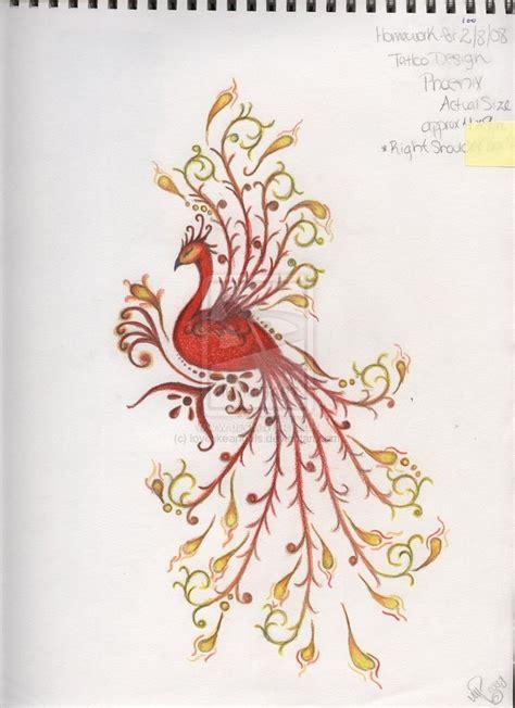phoenix tattoo pretty pinterest phoenix tattoos peacock phoenix tattoos