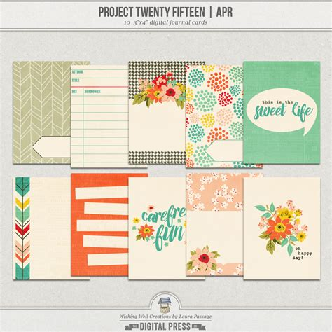 3x4 note card template project twenty fifteen april 3x4 journal cards