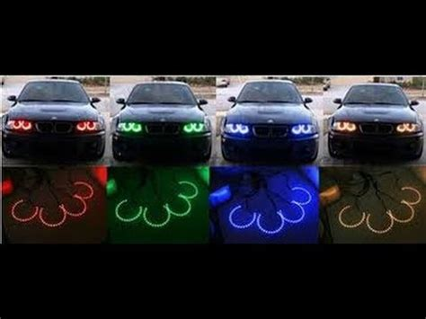 headlight color changer demo bmw color changing headlights bmw gets modified
