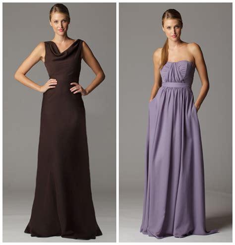 soft flowy bridesmaid dresses rustic wedding chic