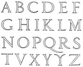 renaissance alphabet clipart etc