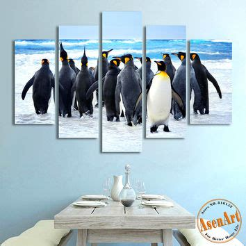 snow country penguin modern best penguin wall decor products on wanelo