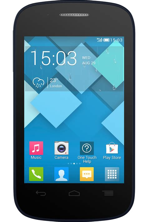 alcatel onetouch    android smart phone gsm att
