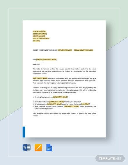 reference check phone script form template word google