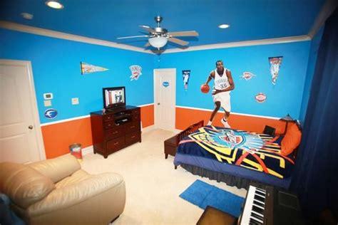oklahoma city thunder decor bedroom idea wgrealestatecom okc thunder kids rooms