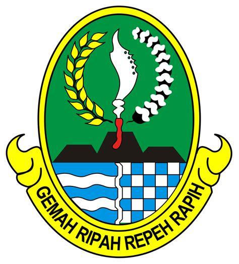 Logo Jawa Barat Bordir logo provinsi seluruh indonesia anak cemerlang