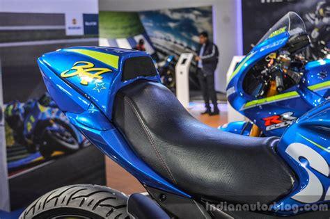 Suzuki Cup Suzuki Gixxer Cup Race Bike Seat At Auto Expo 2016