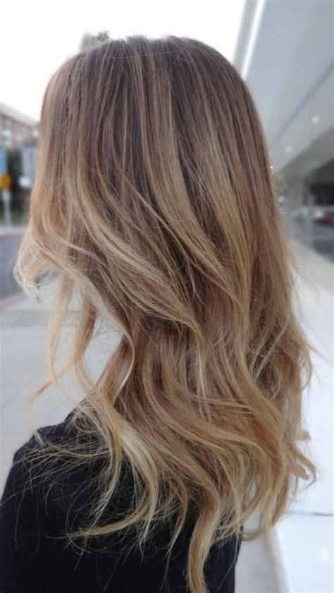 Coupe Et Couleur De Cheveux by 1001 Id 233 Es Pour Coiffures Avec Couleur De Cheveux Marron Clair