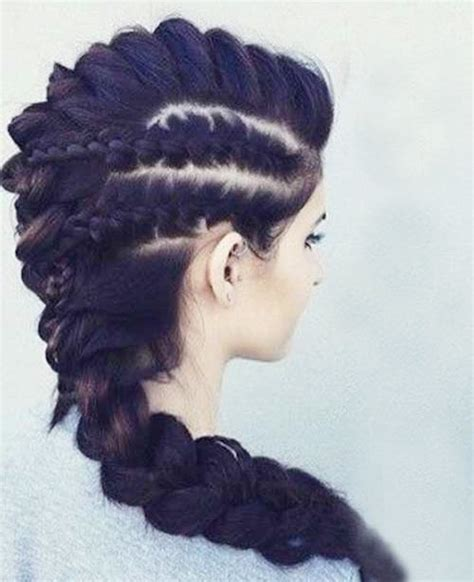 feminine mohawk try these elegant mohawk hairstyles for women at the