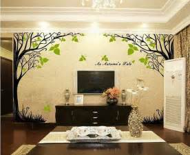 home decor tree a autumn s tale tree wall sticker home decorating photo