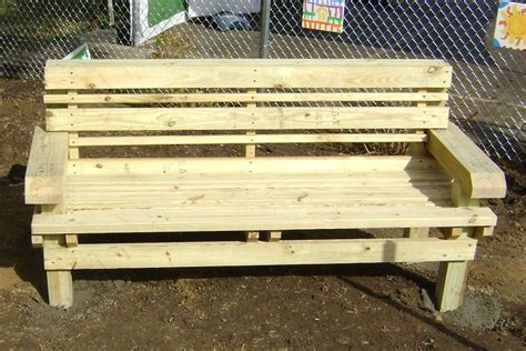 how to build benches how to build a mendocino bench kaboom